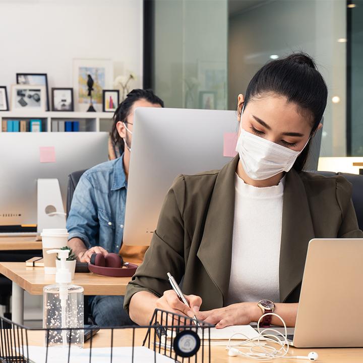 マスク着用が「逃げ」になっている可能性